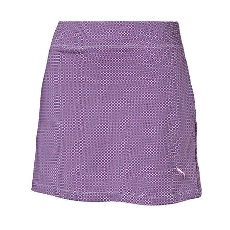 Puma Pinwheel Knit Golf Skirt - Beetroot Purple - Apparel - Bottoms