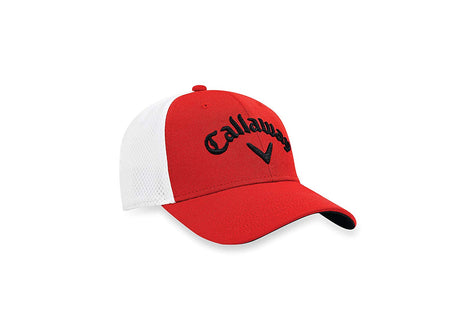 Callaway 2017 Tour Stretch Fitted Hat, Red/White/Black - Golf Country Online