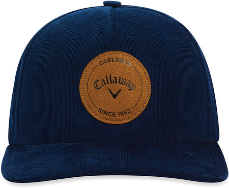 Callaway Golf Corduroy Hat/Cap, Navy - Golf Country Online
