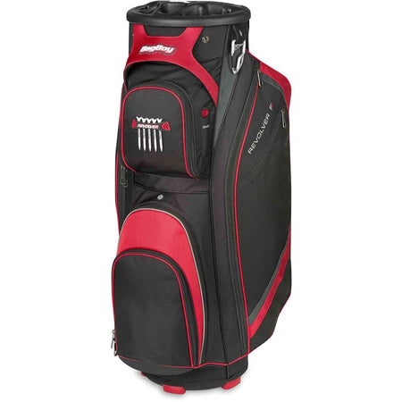 Bag Boy Revolver Fx Cart Bag Black/red/silver - Golf Bags