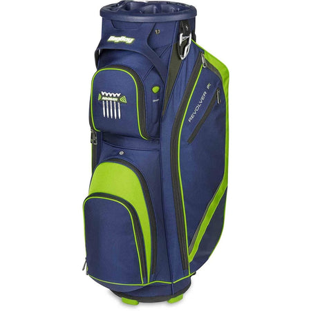 Bag Boy Revolver Fx Cart Bag Navy/lime/silver - Golf Bags