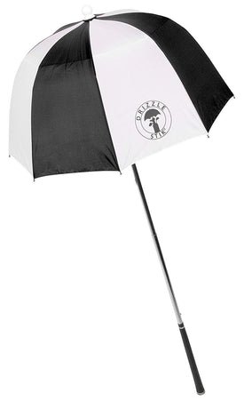 DrizzleStik Flex- Golf Club Umbrella - BLACK - Golf Country Online