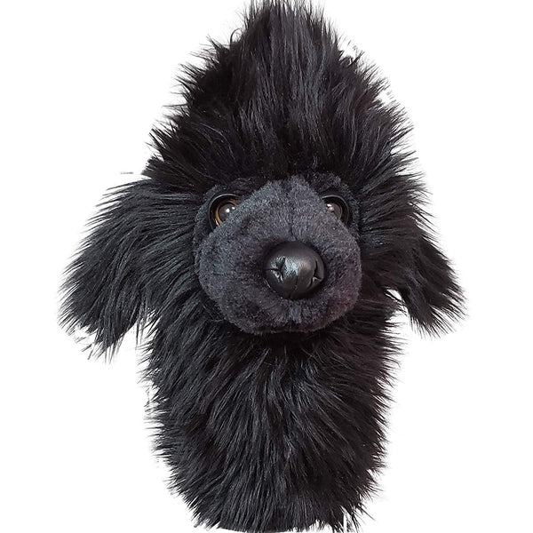 Daphne's Headcovers- Black Poodle Hybrid/Utility Animal Headcover - Golf Country Online