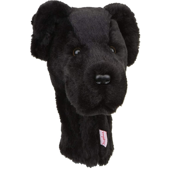 Daphne's Headcovers- Black Lab Hybrid/Utility Animal Headcover - Golf Country Online
