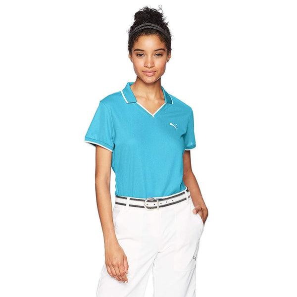 Puma Golf Womens Womens Pique Polo - Apparel - Tops