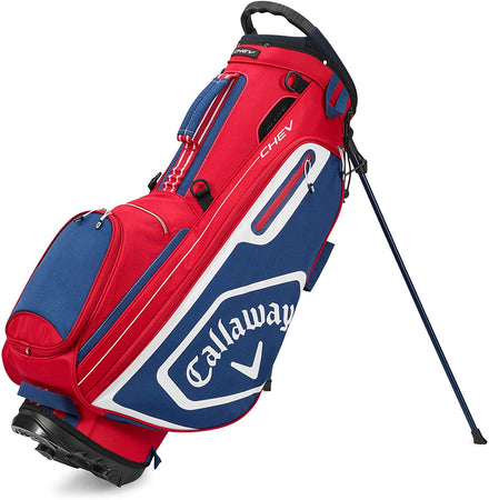 Callaway Golf 2020 Chev Golf Stand Bag- Red/White/Navy