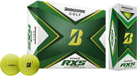 Bridgestone 2020 Tour B RXS Golf Balls (Dozen - Yellow) - Golf Country Online