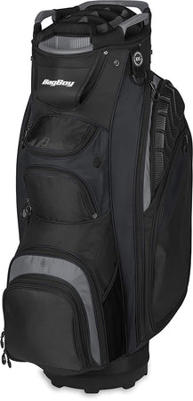 Bag Boy Golf Defender Cart Bag (Black/Charcoal)