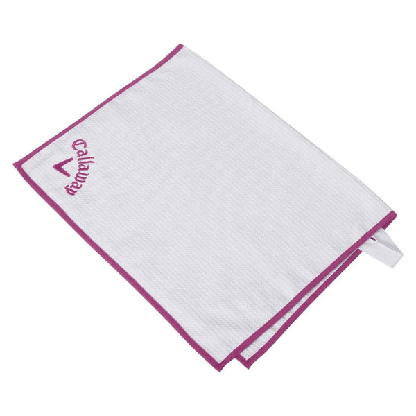Callaway Players Towel, Pink - Golf Country Online