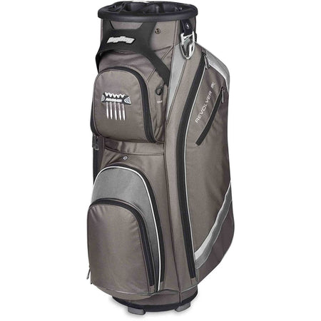 Bag Boy Revolver Fx Cart Bag Charcoal/silver/black - Golf Bags