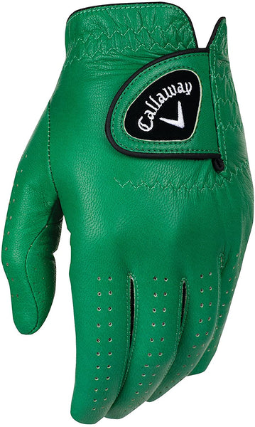 Callaway Golf Men's OptiColor Leather Glove - GREEN