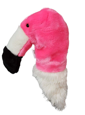 Daphne's Headcovers- Flamingo Hybrid/Utility Animal Headcover - Golf Country Online