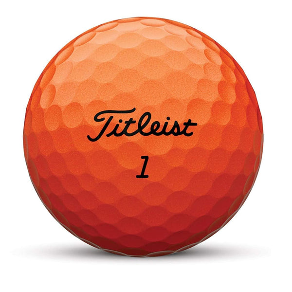 Titleist Velocity Golf Balls (One Dozen - Orange) - Golf Balls