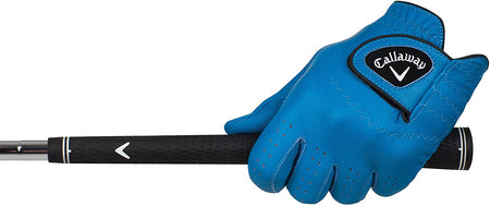 Callaway Golf Men's OptiColor Leather Glove - BLUE