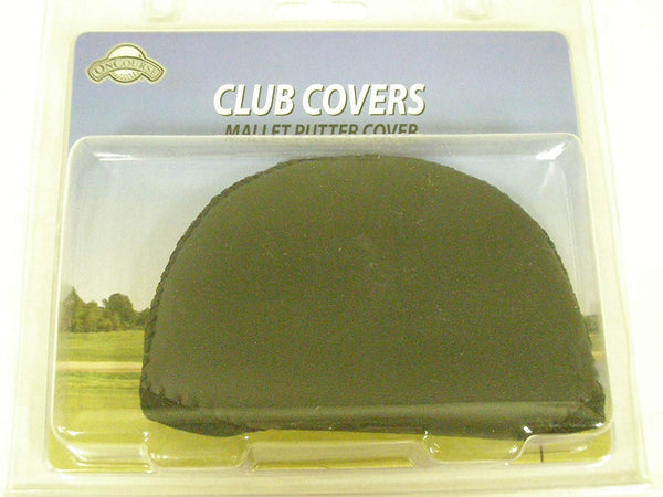 OnCourse Mallet Putter Cover Neoprene Black Golf - Golf Country Online