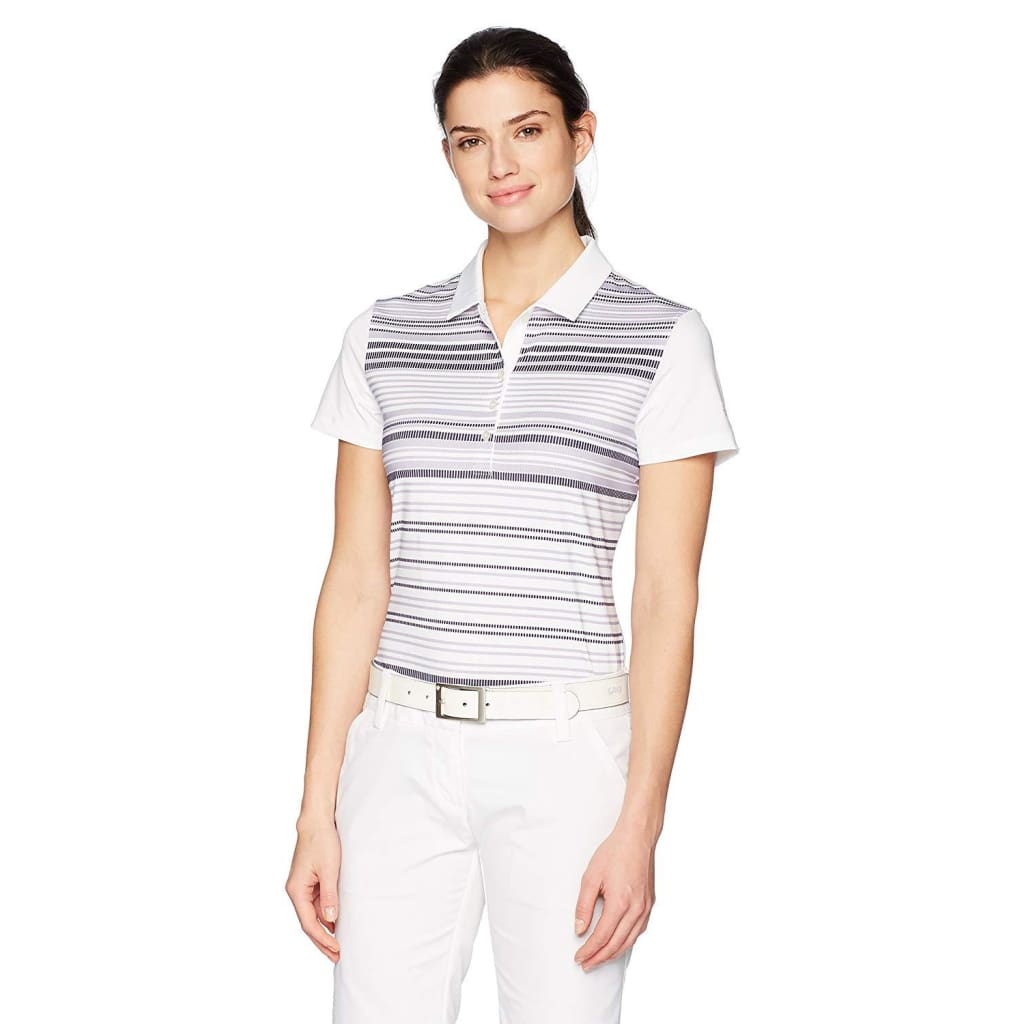 2fa669a9 PUMA Golf Womens Women's Road Map Polo – Golf Country Online