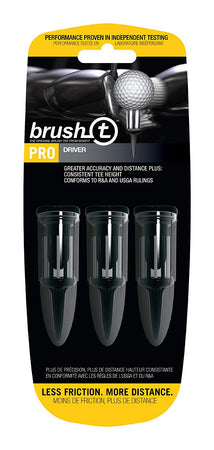 Brush-T Bristle Tee - Driver - 3 Pack - Golf Country Online