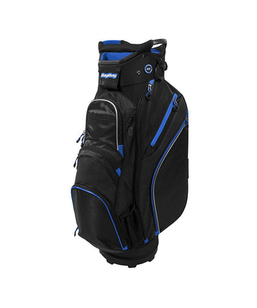 Bag Boy Golf- Chiller Cart Bag (BLACK/CHARCOAL/ROYAL) - Golf Country Online