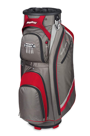 Bag Boy Revolver FX Cart Bag, Charcoal/Red - Golf Country Online