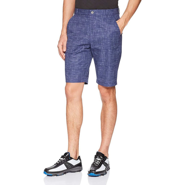 Puma Golf Mens Pwrcool Mesh Plaid Shorts - Apparel - Bottoms