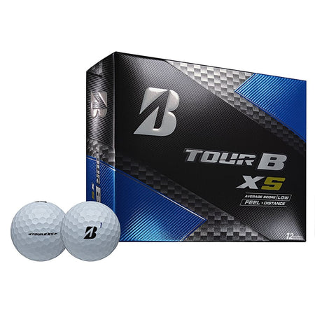 Bridgestone Golf Tour B XS Golf Balls, White (One Dozen) - Golf Country Online