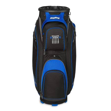 Bag Boy Revolver FX Golf Cart Bag, Black/Royal/Silver - Golf Country Online