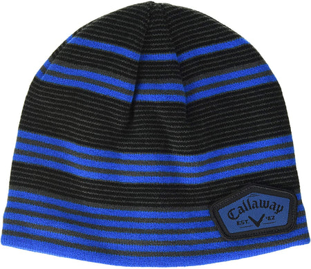 Callaway Golf 2020 Winter Chill Beanie - Black/Royal Blue