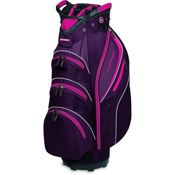 Datrek Golf Lite Rider Ii Cart Bag (Purple/pink/white) - Golf Bags