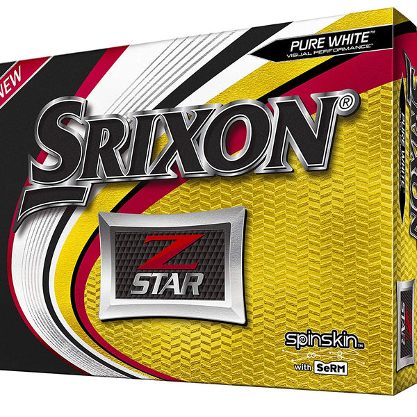 Srixon Z-Star Pure White Golf Balls (One Dozen) - Golf Country Online