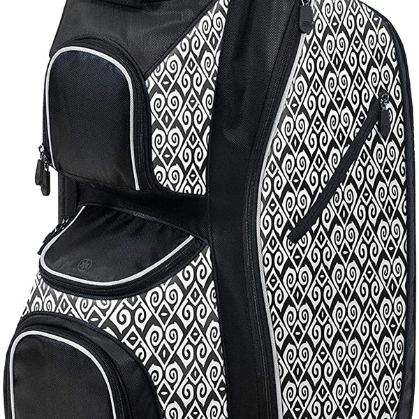 Burton LDX Plus Cart Bag Black/White/Celtic Arrows