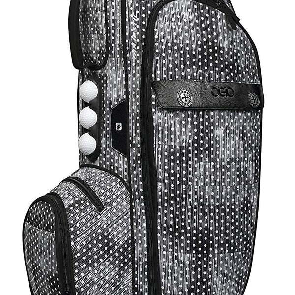 OGIO Majestic Cart Bag, Polka Dot - Golf Country Online