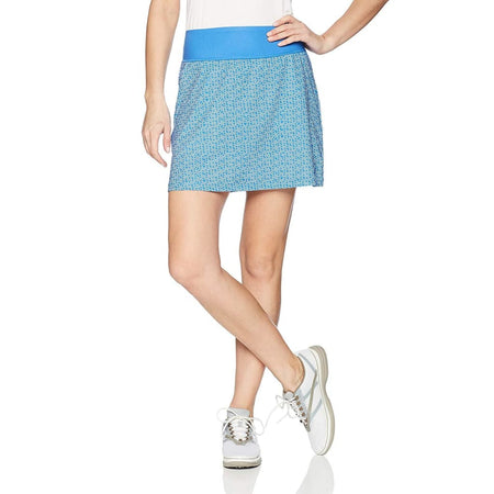 Puma Golf Womens 2018 Pwrshape Polka Dot Knit Skirt Nebula Blue - Apparel - Bottoms