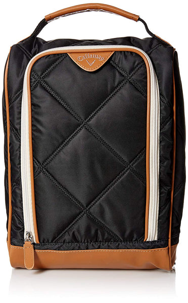 Callaway Women's Up Town Shoe Bag, Black/Brown - Golf Country Online