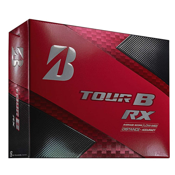 Bridgestone Golf Tour B RX Golf Balls, White (One Dozen) - Golf Country Online