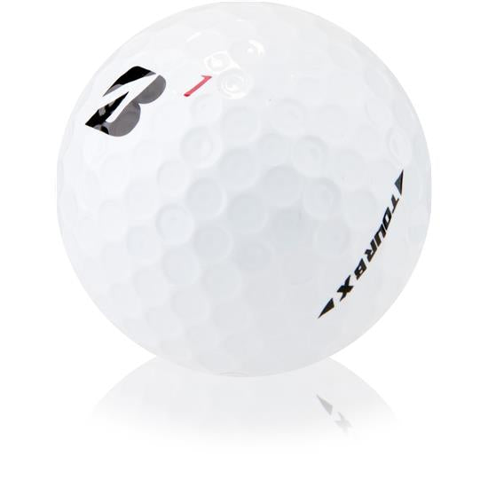 Bridgestone Golf Tour B X Golf Balls, White (One Sleeve/3 Balls) - Golf Country Online