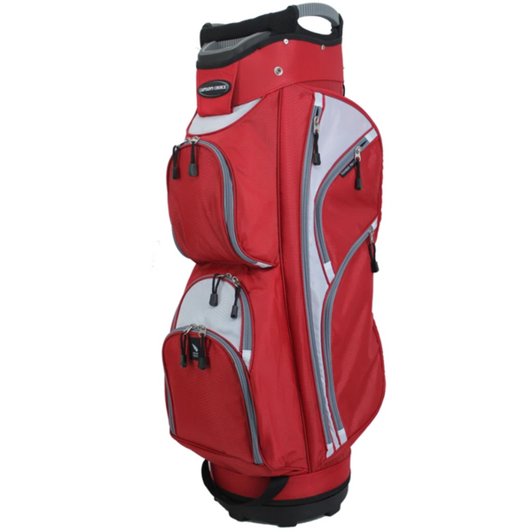 Naples Bay Captains Choice - Cc1 Golf Bags (Red) - Golf Bags