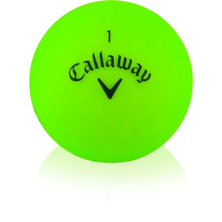 Callaway Golf Supersoft Matte Green Individual Golf Ball