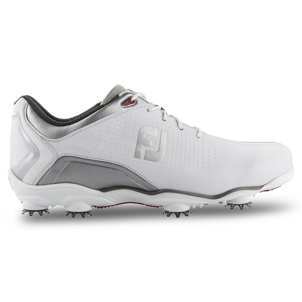 FootJoy D.N.A. Helix Golf Shoes (PREVIOUS SEASON) - White/Silver #53341 - Golf Country Online