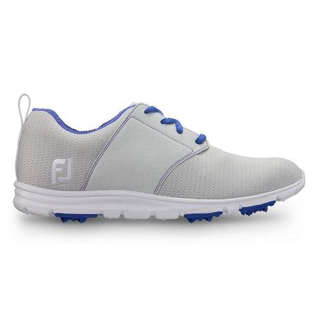 Footjoy Womens Enjoy Golf Shoes - Light Grey - 95708 - Golf Shoes