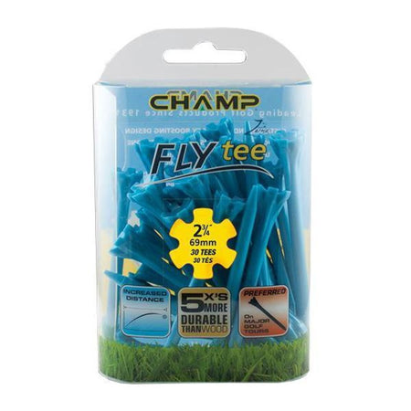 "Champ Zarma FLYtee - 2 3/4"" - NEON BLUE - Golf Country Online"