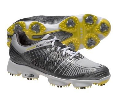 FootJoy Men's Hyperflex II Golf Shoes - Closeout Style 51036 (Silver)