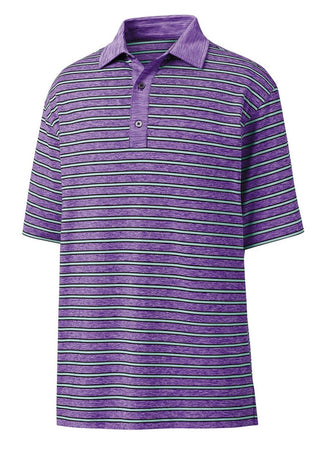 Footjoy Heather Lisle w/Stripe Self Collar - Soft Purple