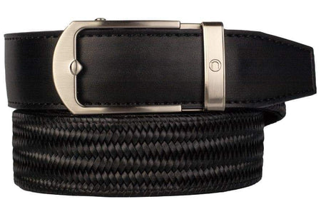 Nexbelt Men's Maduro Weave Black