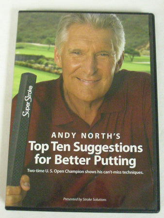 Andy North's TOP TEN SUGGESTIONS FOR BETTER PUTTING - DVD Sealed