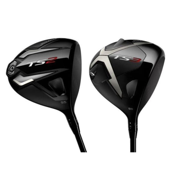 Titleist Ts2 And Ts3 Drivers - Rh - Golf Clubs - Drivers