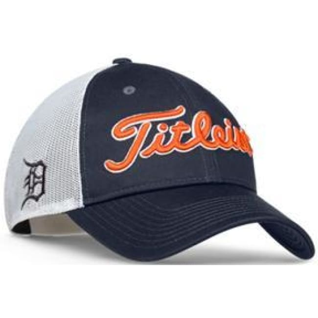 Titleist MLB Mesh Adjustable Hat Cap Detroit Tigers – Golf Country ... 260a5b1d3e6