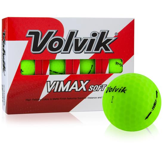 Volvik Vimax Soft Golf Balls - Green