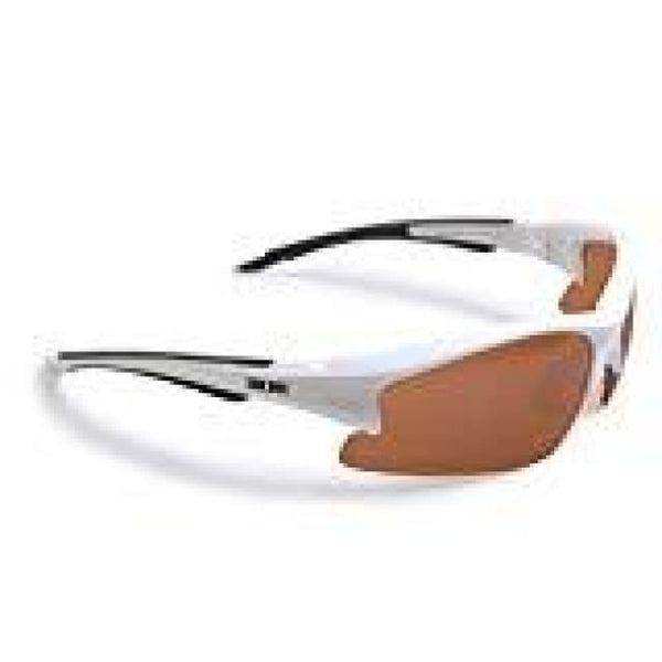 Epoch 1 Amber High Definition Golf Sunglasses (White Amber) - Sunglasses