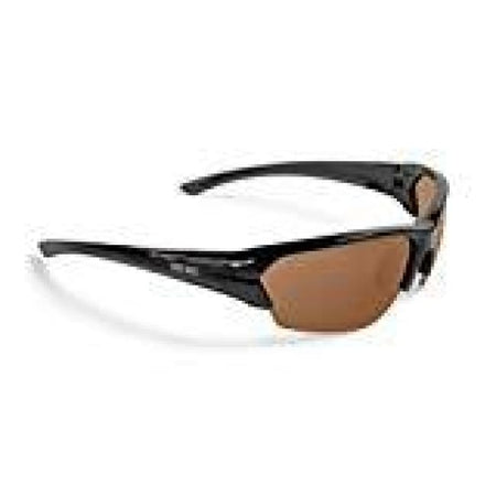 Epoch 2 Black Frame With Amber Lens Sports Golf Sunglasses - Sunglasses