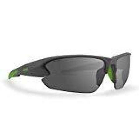 Epoch 4 Gray/lime Polycarbonate Frame With Smoke Lenses Sunglasses - Sunglasses